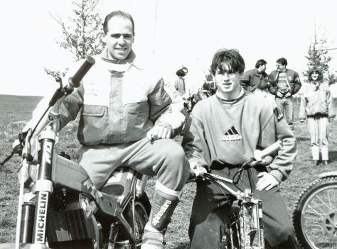 April 1992 - World Champs - Jordi Tarres - David Page