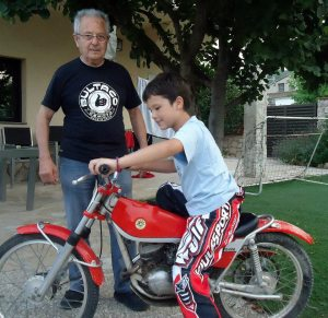 Bambi Valera & Oriol Marse - grandson