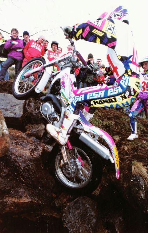 David Page - TYZ British Champs 1993