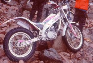 Hiro Kamura's Yamaha TYZ 1992