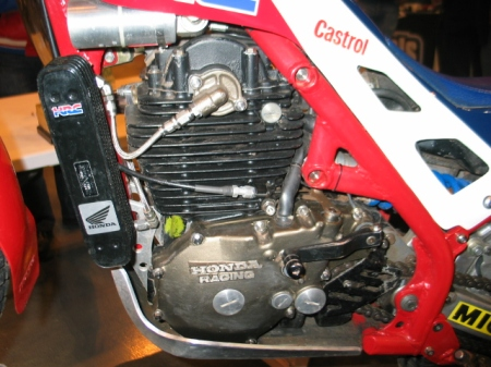 RTL360 generator side close up. Photo, Copyright: Trials Guru/MoffatRacing, 2014