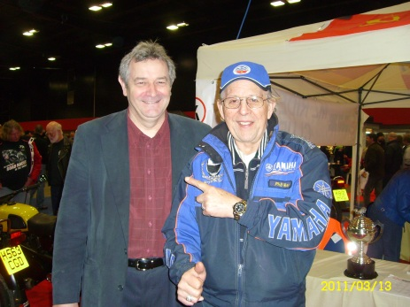 John Moffat has interviewed seven times World motorcycle racing champion, Phil Read MBE