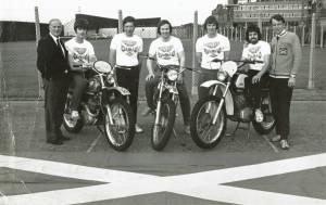 ISDT Team 1974