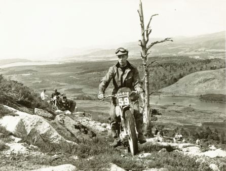 Tommy Robertson on Inshriach in the 1953 SSDT