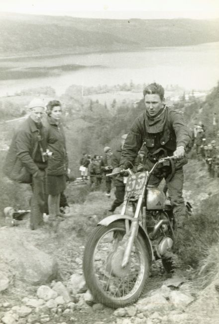 1968 SSDT on Foyers with the 37A Villiers powered Cotton. Rob was fourth in the event.