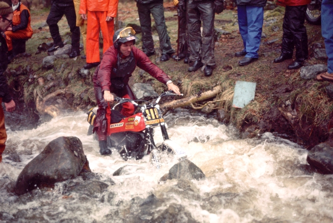 On the 348 Montesa in 1978 Scottish Six Day at 'Camp' section. Final result: Second Place to Martin Lampkin. Photo - Worldwide Copyright: Eric Kitchen