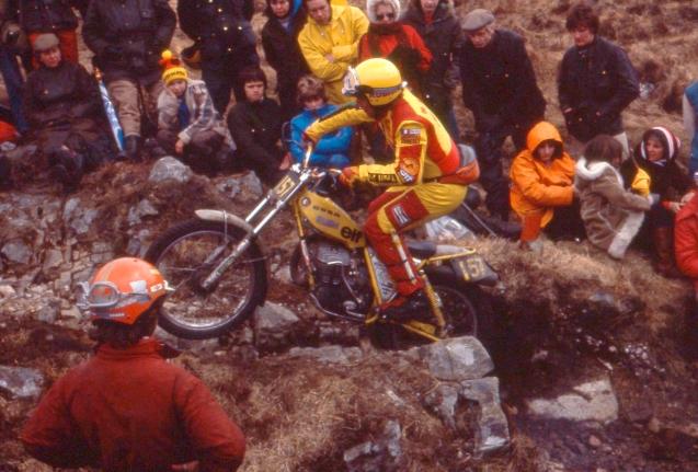 Mick Andrews Loch Eilde path - 1979