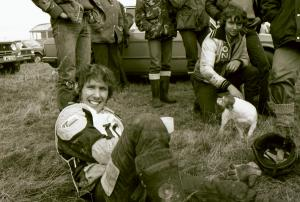 Rob Edwards in 1981 -Photo Copyright: Barry Robinson, Ilkely.