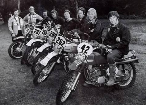ISDT 1973 - Trophy Team