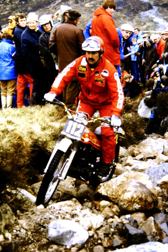 Jim Sandiford 349 Montesa Cota in the 1980 Scottish Six Days - © - Jimmy Young, Armadale.