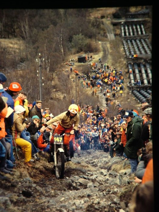 Nigel Birkett - 1979 Scottish Six Days on Pipeline (305 Montesa) - © - Jimmy Young, Armadale.