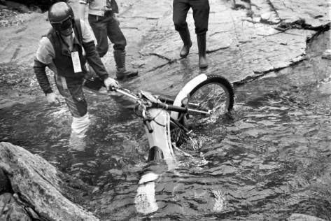 Drowned bike - JY