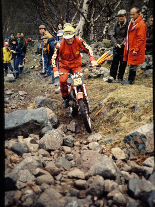 H. Martin Lampkin - 1978 Scottish Six Days on Ben Nevis - © - Jimmy Young, Armadale.