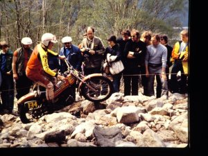 Scottish Six days Trial - malcolm Rathmell (349 Montesa) - © -Jimmy Young, Armadale.