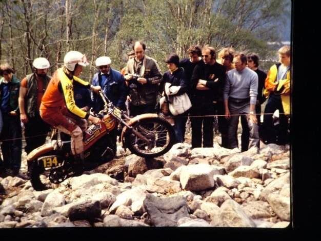 Scottish Six days Trial - malcolm Rathmell (349 Montesa) - Photo Jimmy Young, Armadale.