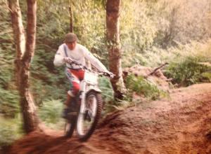 Derek on his TY250R Yamaha.