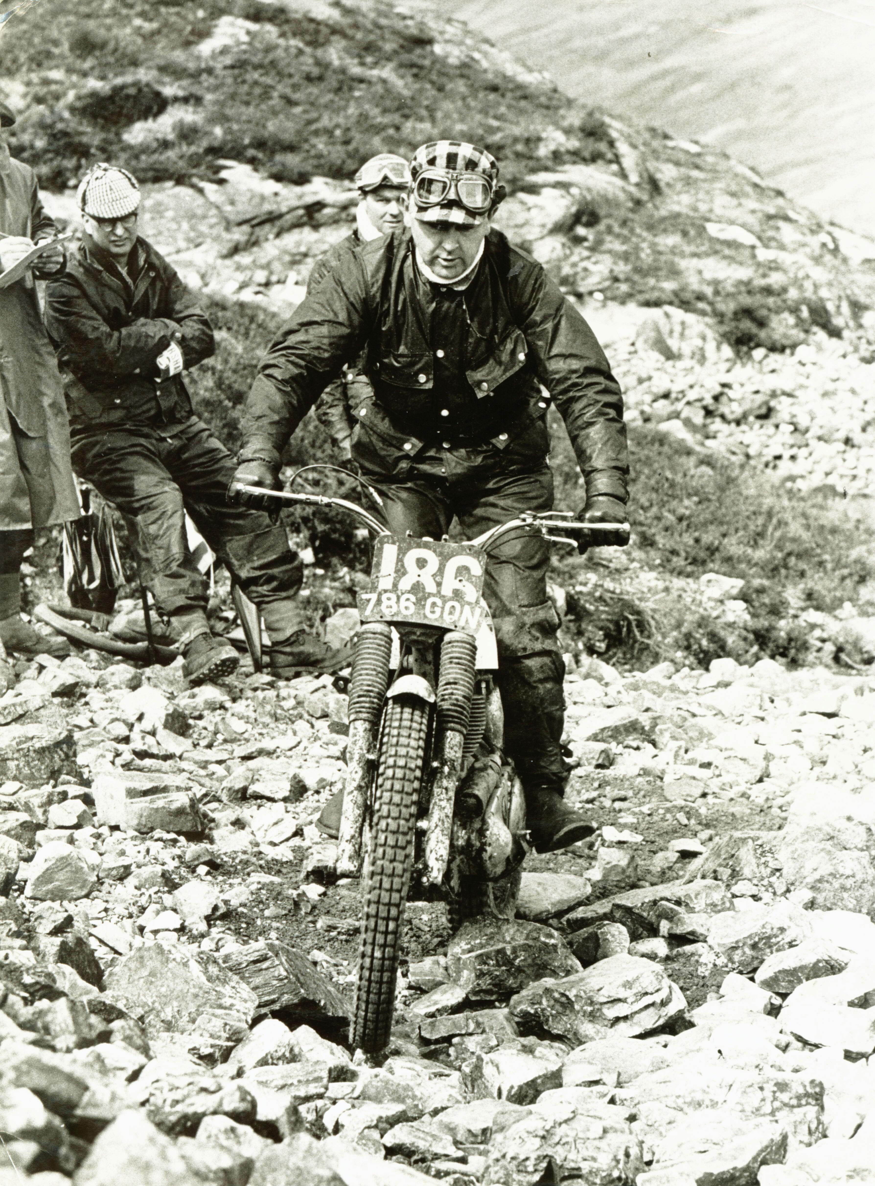 1965 Scottish Six Days - Ariel 786GON