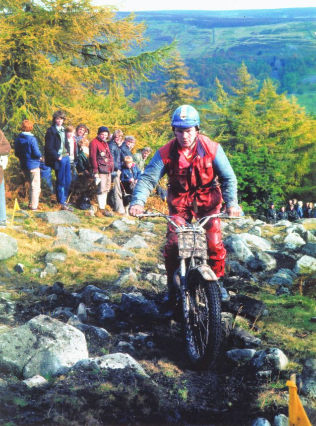 Alan R C Lampkin - Scott Trial