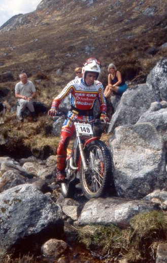 Jordi Tarres (270 GasGas) in the 1999 Scottish Six Days - © – Iain Lawrie, Kinlochleven.