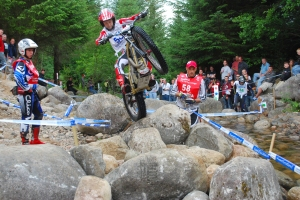 Gary Macdonald - Scotlands' most successful trials rider of all time! - Photo: Iain Lawrie, Kinlochleven.