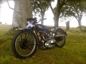 Mark Whitham's 1935 Rudge Special Competition model.