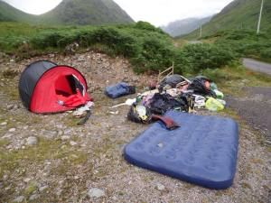 Glen Etive - Rubbish
