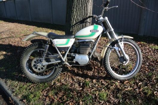 Moto Trial Vintage - Ossa Cheney