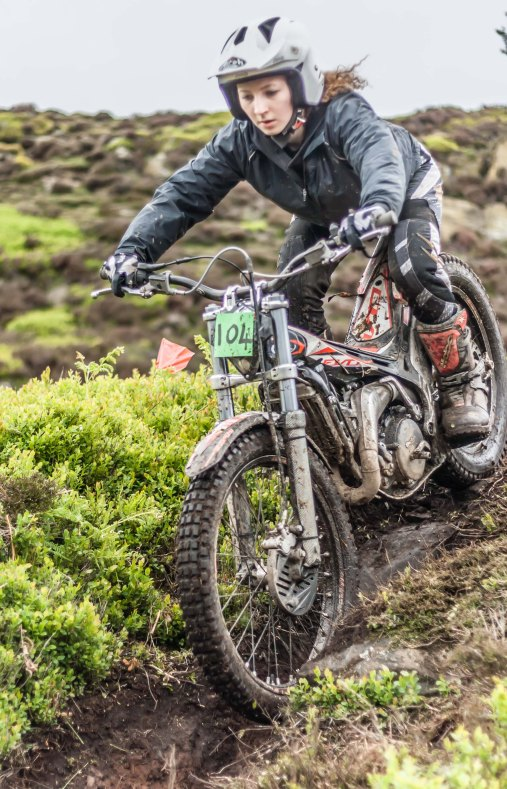 Beth Waite, Farndale Trial, May 2015