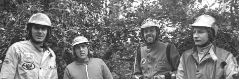 Brian Higgins, John Luckett, Martin Strang, Allan Hunt