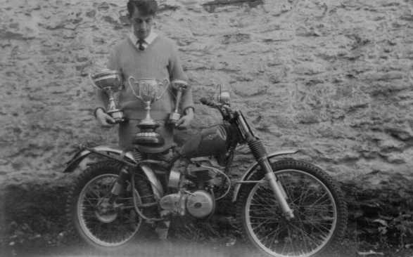 C.Dommett second bike (ACS) first was a very fragile cub