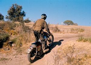 Colin Dommett 1970 ISDT - B Catt Photo
