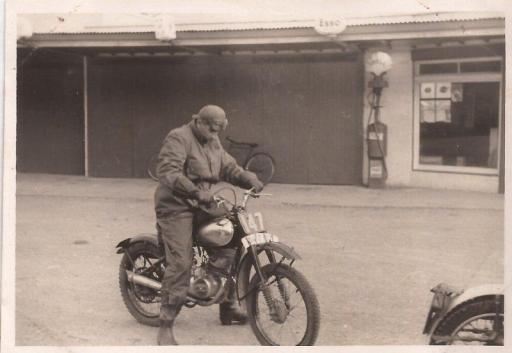 125cc CZ 1950 Scottish Six Day Trial