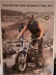 1973 Bultaco Malcolm Rathmell