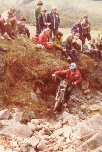 1980 - Ben Nevis J J McComisky - 349 Montesa