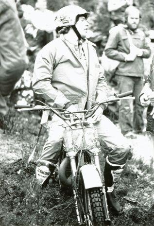 Bernie Schreiber waits his turn at Achlain during the SSDT 1980 - Photo: John Honeyman, Markinch, Fife