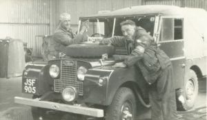 Dave Fisher - Land Rover - 1954