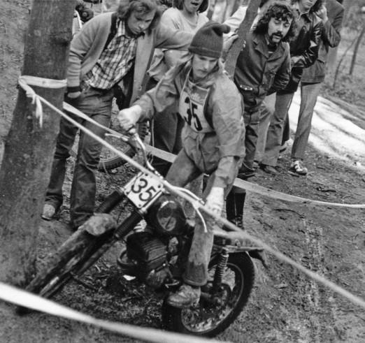 Martin Niebuhr - 50cc Zundapp - German Championship round at Mauer in 1974 - Photo: Rainer Heise Archive.
