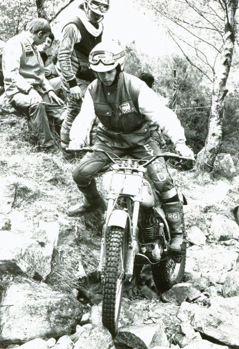 John Lampkin - 250 Bultaco - 1980 SSDT - JH