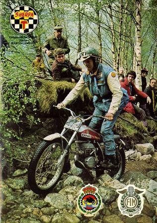 Lampkin 1975 SSDT - Poster Photo