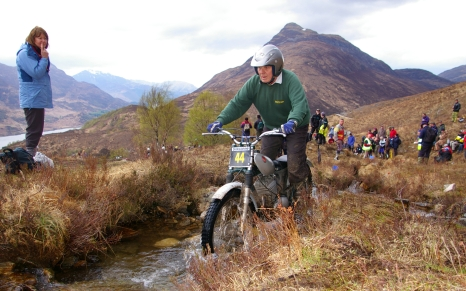Mike Ransom on Am Bodach in the 2008 Pre'65 Scottish Trial - Photo Copyright: Iain Lawrie, Kinlochleven.
