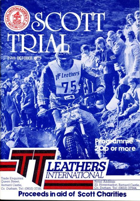 1979 Scott Programme cover