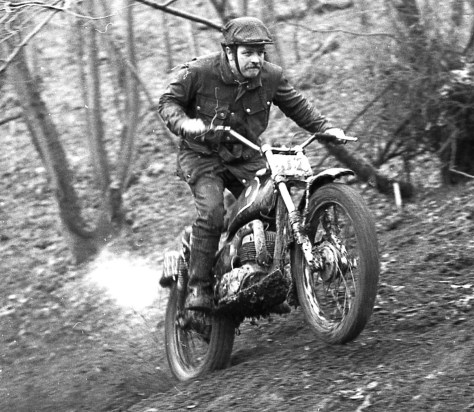 After trial testing Rapley on his own Bultaco