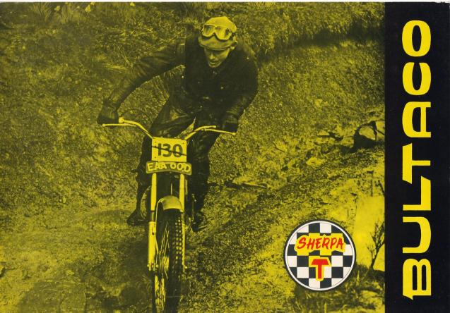Bultaco EAA60D poster