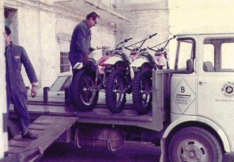 Bultaco factory 1976