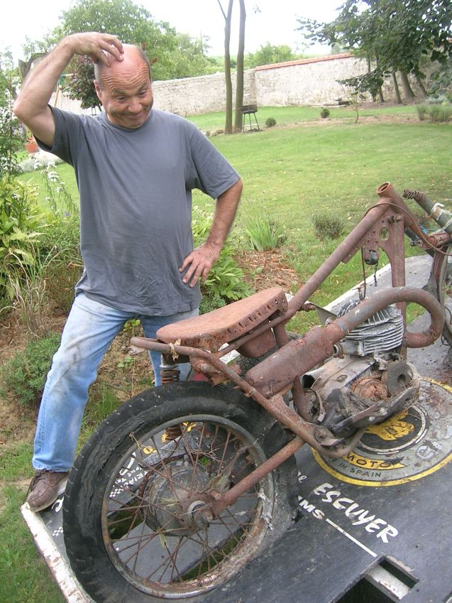 BultacoT10ExJeanBohecCollectionEscuyerAvantRestauration