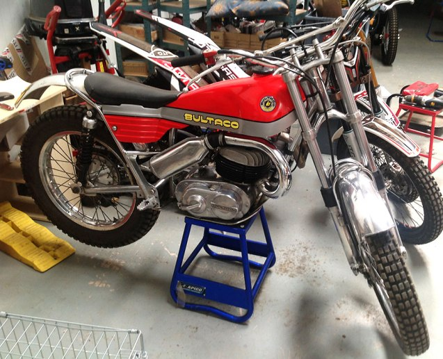 Dennis Sanders - Bultaco