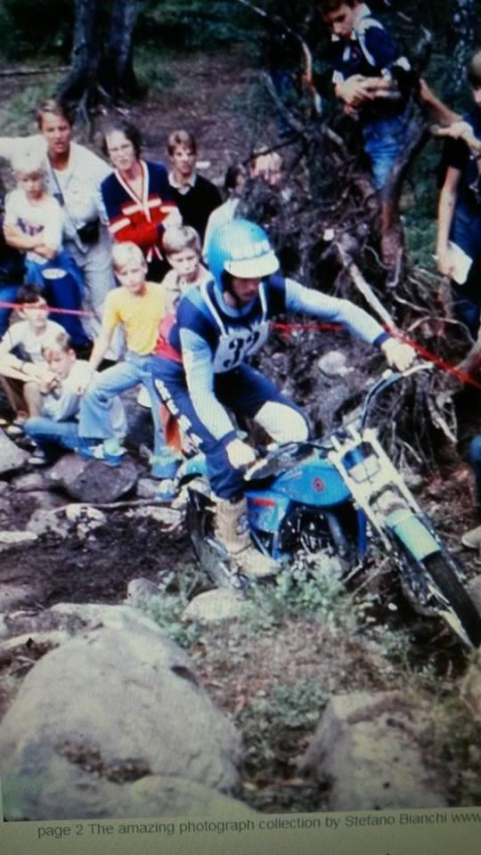 Ettore Baldini 1979 - Bultaco