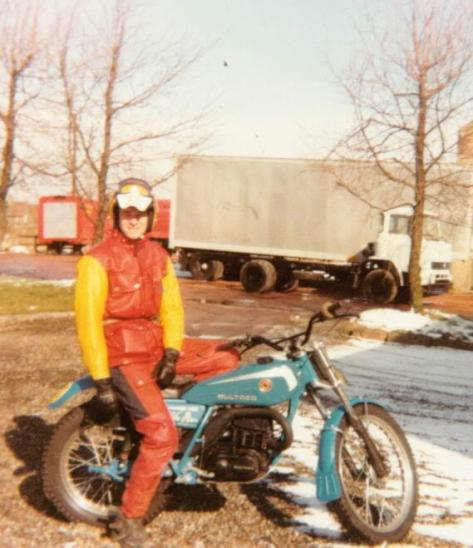 Jan 1979 - Whitburn - Bultaco 199A