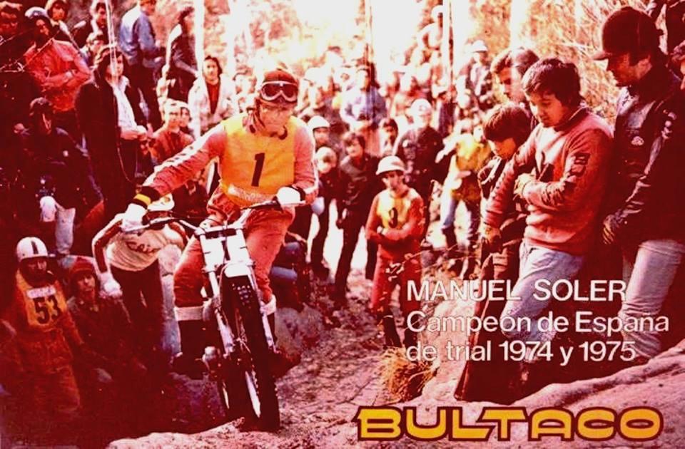 Manuel Soler - Publicity - Bultaco