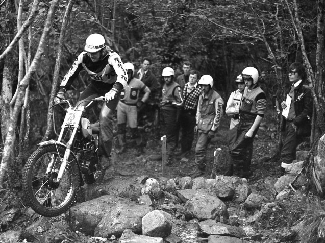 Mick Andrews on Ossa